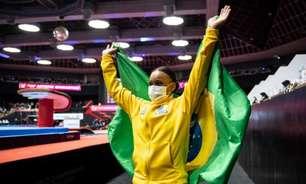 Com brilho de Rebeca, Brasil celebra melhor campanha na história do Mundial de ginástica artística