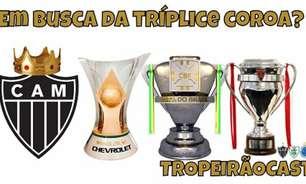 TROPEIRÃOCAST- Atlético-MG rumo a Tríplice Coroa em 2021?