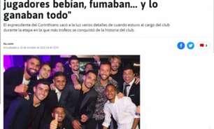 Jornal espanhol usa foto de rival para falar do Corinthians