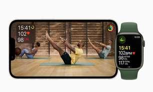 Apple Fitness+ desembarca no Brasil em novembro com treinos e meditação