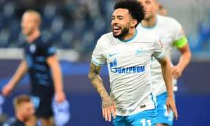 Veja o golaço que Claudinho marcou com a camisa do Zenit em goleada história sobre o Spartak Moscou