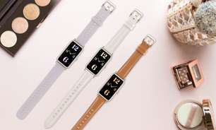 Huawei Watch Fit Mini tem design compacto e bateria para 14 dias