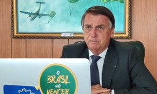 Bolsonaro volta a se manifestar sobre vacina e AIDS