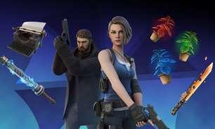 Fortnite recebe Chris e Jill de Resident Evil