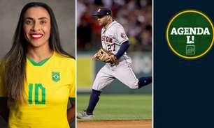 Seleção Feminina, Série B, World Series, NBA... Saiba onde assistir aos eventos esportivos de terça-feira