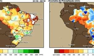 Regularização da chuva e bom cenário para Agricultura