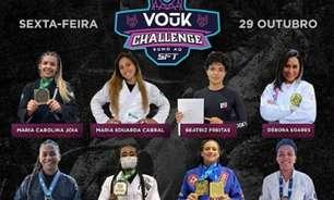 GP feminino de Jiu-Jitsu organizado pela Vouk terá final transmitida ao vivo no SFT 31 e premio em dinheiro