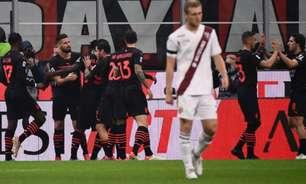 Com gols de Giroud, Milan vence o Torino e dispara na liderança do Campeonato Italiano