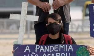 Brasil ultrapassa 606 mil mortes por covid-19