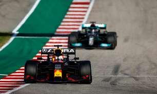 Hamilton revela que turbulência impediu tentativa de ultrapassar Verstappen nos EUA