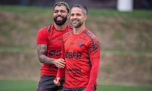 Com atividade tática no campo, Flamengo finaliza preparação para enfrentar o Athletico-PR