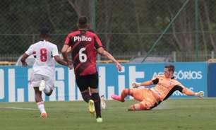 Felipe vibra com classificação do São Paulo à semifinal do Brasileiro sub-20: 'O elenco todo está de parabéns'