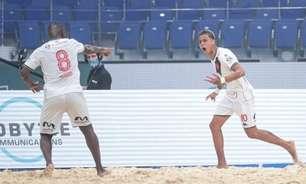 Mauricinho comenta classificação do Vasco no Mundialito de futebol de areia: 'Cada jogo se tornou uma final'
