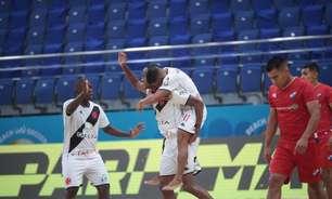 Vasco vence de virada o Nacional, do Paraguai, e avança às semifinais do Mundialito de futebol de areia
