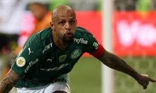 Felipe Melo comemora virada do Palmeiras sobre o Sport e destaca dica de Felipão: 'Corre que vai fazer'