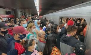 SP: roubo de cabos em linha do Metro gera filas e lentidão