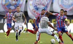Em reedição da final da Copa do Nordeste 2021, Bahia e Ceará se enfrentam pelo Brasileirão