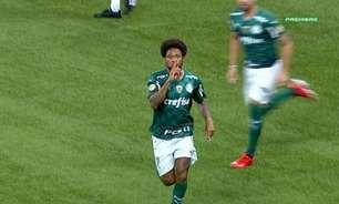 Luiz Adriano recebe advertência do Palmeiras por comemoração de gol contra o Sport
