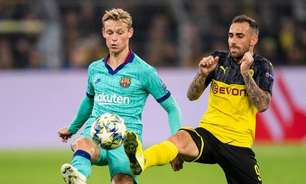 Portal: Barcelona recusou oferta de gigante por Frenkie de Jong