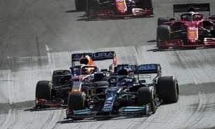 """Mercedes se diz satisfeita por pressionar Red Bull em Austin: """"Não foi uma vitória fácil"""""""