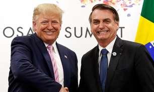 Trump divulga mensagem de apoio a Bolsonaro