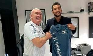 Santos oficializa Edu Dracena como novo executivo de futebol