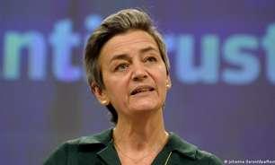 """Comissária da UE diz que é preciso """"agir agora"""" contra o Facebook"""