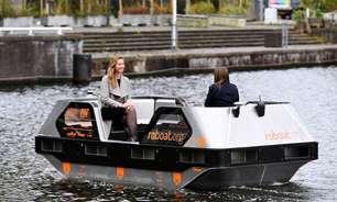 Botes autodirigíveis estão prontos para teste nos canais de Amsterdã