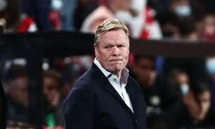 Barcelona demite técnico Koeman após maus resultados