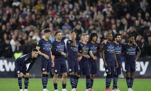 City é eliminado pelo West Ham da Copa da Liga Inglesa
