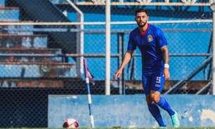 Paulo Matheus comemora classificação heroica do São Caetano na Copa Paulista