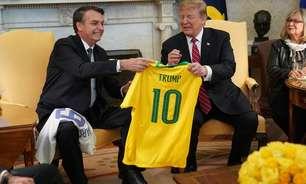 'Brasil tem sorte em ter Bolsonaro', diz Trump