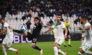 Gol no último minuto garante vitória história do Sassuolo sobre a Juventus