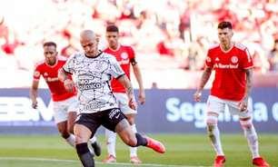 Após somar só 1 ponto em dois jogos, Corinthians corre risco de cair para o 8º lugar do Brasileirão nesta quarta
