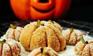 Sobremesas com abóbora para o Halloween