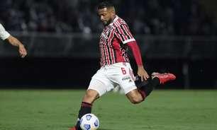 Reinaldo ganha espaço com Ceni e chega ao terceiro jogo seguido como titular do São Paulo após um mês
