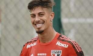 Rigoni evolui em recuperação e faz parte de treino com o elenco do São Paulo