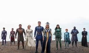 """Eternos"" tem pior nota da Marvel no Rotten Tomatoes"