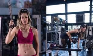 Modelo internacional Aline Tabata revela rotina de cuidados alimentares e exercícios para manter a forma