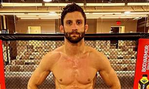 Prestes a estrear no UFC, Allan Puro Osso projeta: 'Quero chegar já mostrando meu potencial'