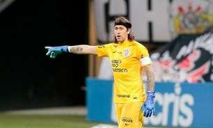 Corinthians não terá Cássio como titular pela primeira vez em quase seis meses; relembre a última