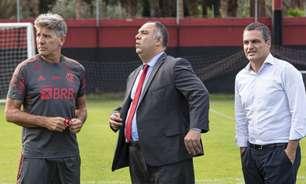 Em dia de reuniões, Flamengo se reapresenta e dá respaldo a Renato antes de jogo contra o Atlético