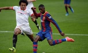 Xavi deseja usar Dembélé como titular no Barcelona, e zagueiro do Sevilla é o primeiro alvo como reforço