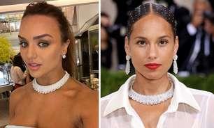 Rafa Kalimann usa colar valioso já usado por Alicia Keys; confira!