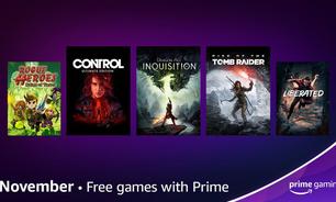 Prime Gaming em novembro tem Control, Dragon Age e mais jogos