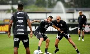 Com Renato Augusto de novo em campo, Corinthians realiza primeiro treino tático para duelo com a Chape