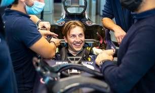 Lawson visita AlphaTauri e tira molde de assento antes de primeiro teste na Fórmula 1