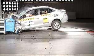 Toyota Yaris decepciona e tem uma estrela no Latin NCAP