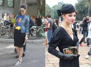 Fashionistas levam looks diversificados para as ruas de Milão