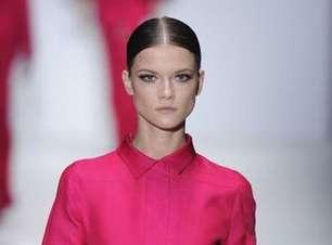 Semana de moda de Milão aponta cabelo dividido como tendência